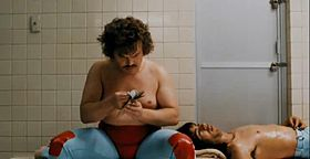 Jack Black in una scena del film