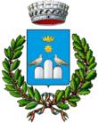 Lo stemma del comune di Tortora.
