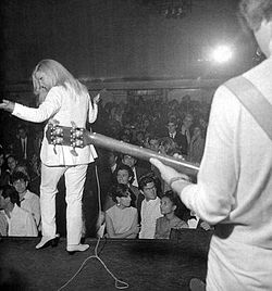 Patty Pravo al Piper Club nel 1966.