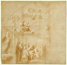 Disputa del sacramento wikipedia for Decorazione stanze vaticane