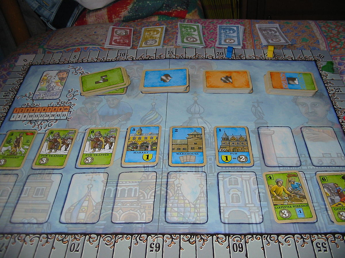 Saint petersburg gioco da tavolo wikipedia - Waterloo gioco da tavolo ...