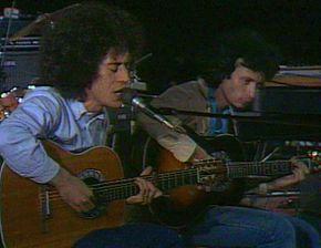 Angelo Branduardi e Maurizio Fabrizio in concerto nel 1979