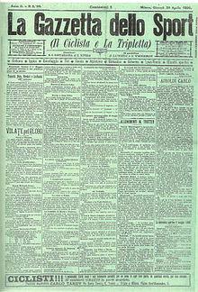 La Gazzetta Dello Sport Wikipedia