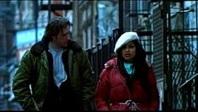Edward Burns e Rosario Dawson