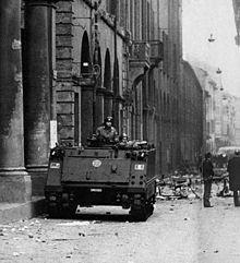 Bologna marzo 1977 i carriarmati in città