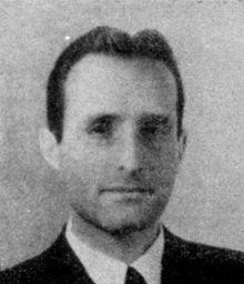 Oscar Luigi Scalfaro nel 1946