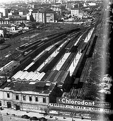 Stazione di milano porta nuova 1931 wikipedia - Stazione porta vittoria milano ...