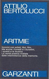 Copertina della prima edizione di Aritmie, 1991