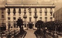 L'albergo Hotel du Nord all'inizio del XX secolo, dove fu fondato il Milan. In seguito fu rinominato Hotel Principe di Savoia