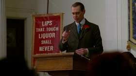 Nucky Thompson nel primo episodio