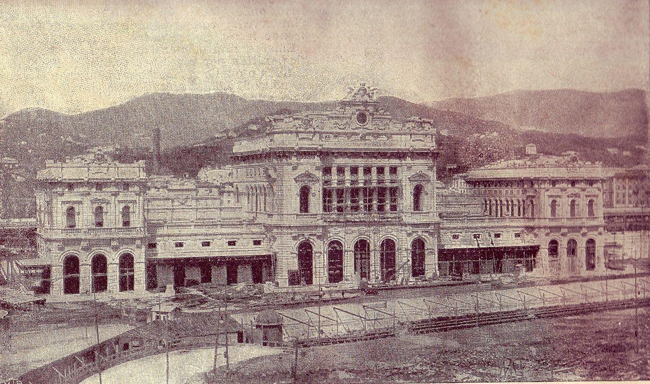 Estación de Brignole en 1905