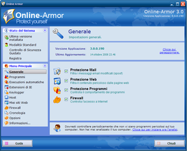 Screenshot di Online Armor
