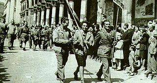 Partigiani in festa a Milano