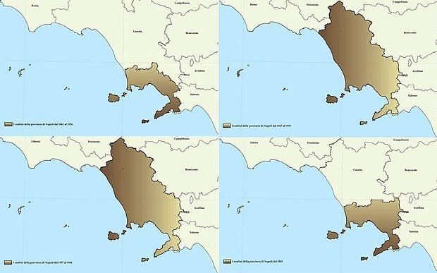 Provincia Di Napoli Cartina.Provincia Di Napoli Wikiwand