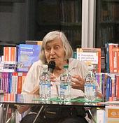 Margherita Hack alla presentazione del libro Libera scienza in libero stato svoltasi nel luglio 2010 a San Donà di Piave