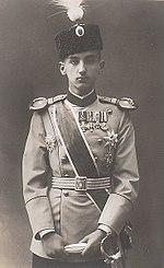 Il principe serbo Giorgio Karađorđević reagì con fermezza all'annuncio austriaco dell'annessione della Bosnia.[12]