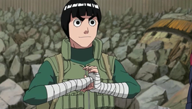 Rock Lee nella seconda serie animata