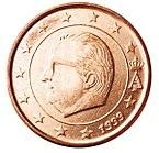1 centesimo Belgio 1999.jpg