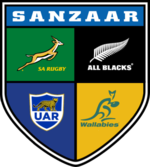 Logo South Africa New Zealand Australia and Argentina Rugby