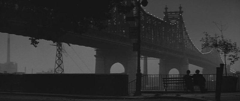 un fotogramma di Manhattan