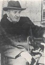 Vincenzo Cardarelli negli ultimi anni di vita.