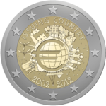 €2 commemorative coin Eurozone 2009.png