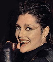 Il look punk della sedicenne Anna Oxa nel 1978