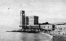 Castello Raggio (Cornigliano), ai primi del Novecento