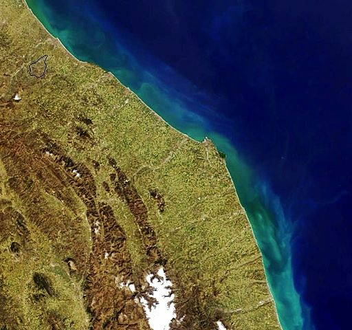 Cartina Geografica Satellitare.File Mappa Satellitare Delle Marche Jpg Wikipedia