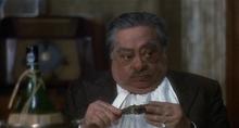Aldo Fabrizi nel film C'eravamo tanto amati (1974), di Ettore Scola