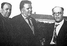 Da sinistra: Orfeo Mucci, Antonino Poce, Francesco Cretara