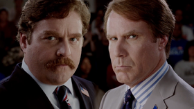 Marty Huggins e Cam Brady in una scena del film