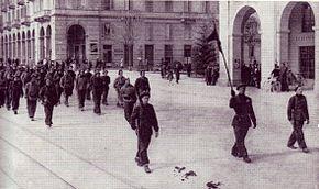 Cuneo, settembre 1944 arditi della Compagnia Baragiotta-Salines