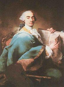 Ritratto di Domenico Cimarosa realizzato da Alessandro Longhi.