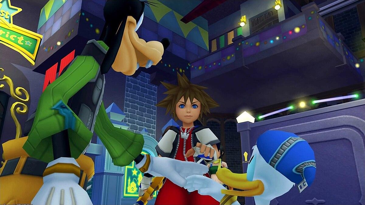 Ben noto Kingdom Hearts (videogioco) - Wikipedia WD79