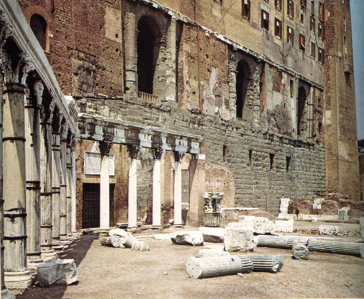 Portico degli dei consenti wikipedia for Architettura classica