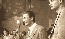 Berlinguer e Luciano Lama negli anni cinquanta