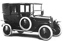 La Fiat 1T Taxi costruita dal 1920 al 1922