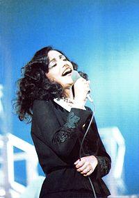 Mia Martini in un concerto del 1976