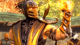Scorpion in Mortal Kombat IX