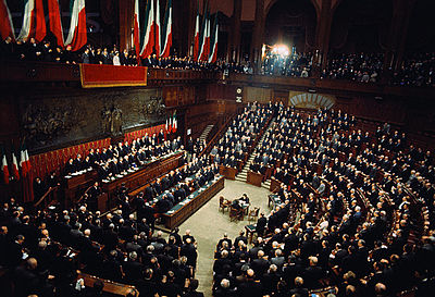 Parlamento della repubblica italiana il parlamento italiano for Composizione del parlamento italiano oggi