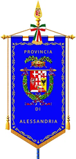 Il gonfalone della provincia