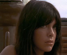 Nadia Cassini in Il dio serpente (1970)