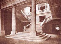 Latrio del Policlinico Umberto I nel 1902