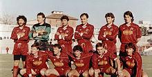 La Reggiana del 1988-1989, vincitrice del girone A di Serie C1.