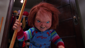 Chucky nel film La bambola assassina 2