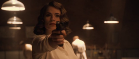 Peggy Carter interpretata da Hayley Atwell.