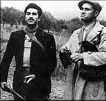 I banditi siciliani Gaspare Pisciotta e Salvatore Giuliano.