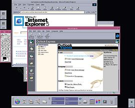 Screenshot di Internet Explorer per UNIX