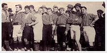 Domenica 9 marzo 1902: inizia la storia calcistica del Vicenza, composto all'epoca da soli giocatori del territorio.